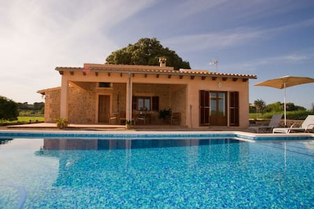 Charming cottage with swimming pool - Sineu