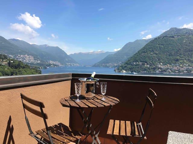 Como Lake - Appartamento tra lago e cielo