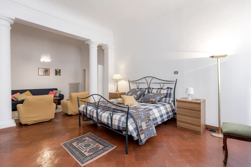 Triple bedroom with sofa bed
