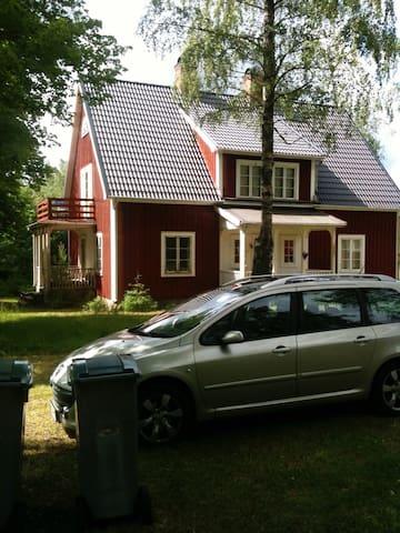Stort hus på landet. - Grönteboda - บ้าน