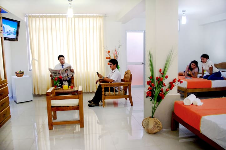 Habitación Cuádruple DEL CASTILLO PLAZA HOTEL