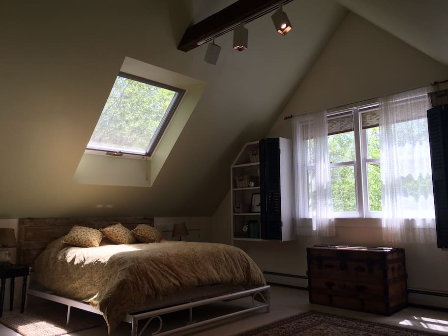 sun-filled cozy space