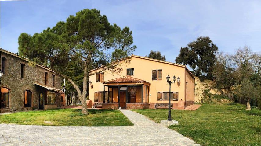Casa Rural Mas Caputxa-Casa Naranja - Hostalric - Rumah