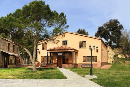 Casa Rural Mas Caputxa-Casa Naranja - Hostalric - Ház