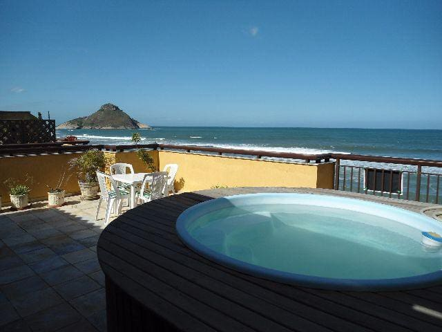 Cobertura na beira da praia,próx do Park Olímpico - Rio de Janeiro - Apartamento