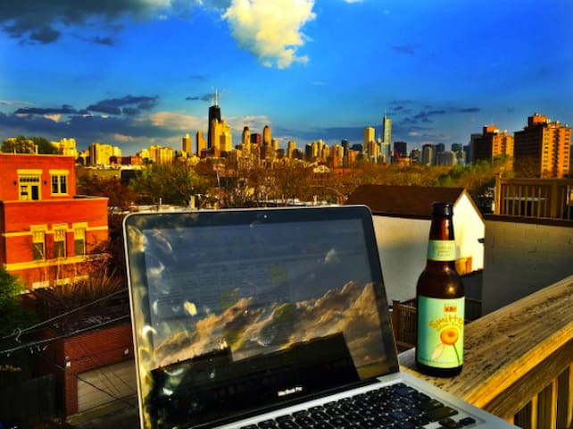 Lincoln Park & Rooftop View - Chicago - Appartamento