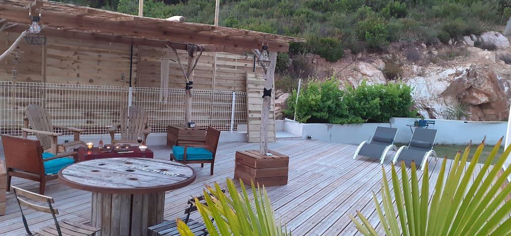 TAVACO région Ajaccio  villa 140m2 tout confort