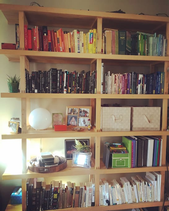 As you can see, I take great pride in this awesome bookshelf :)