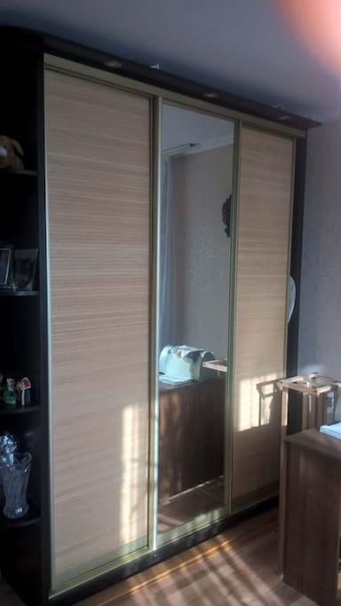 wardrobe in room 1
