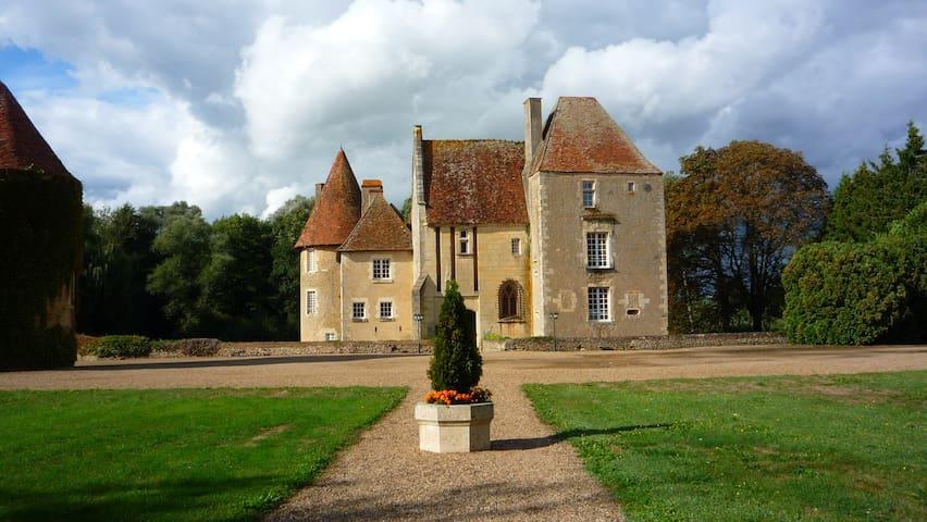 Château du Marais B&B : Chambre de la Poterne - Gimouille - Bed & Breakfast