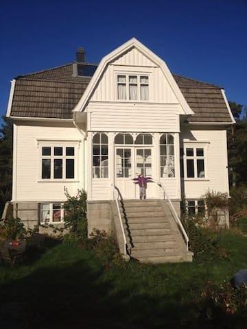 House; the carfree, idyllic Sandøya - Vestre Sandøya
