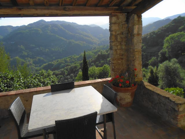 Spacious property in superb setting - Borgo a Mozzano - Квартира