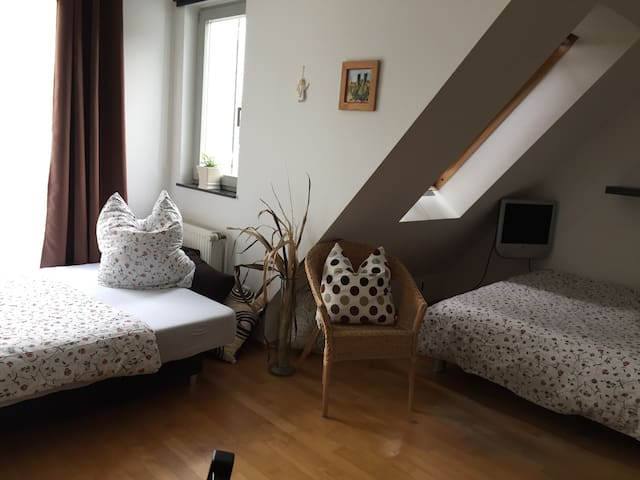 Helles,sonniges Zimmer in Nähe Stadion, Messe, Uni - Dortmund - Casa