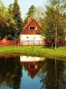 historyczne  siedlisko na wsi