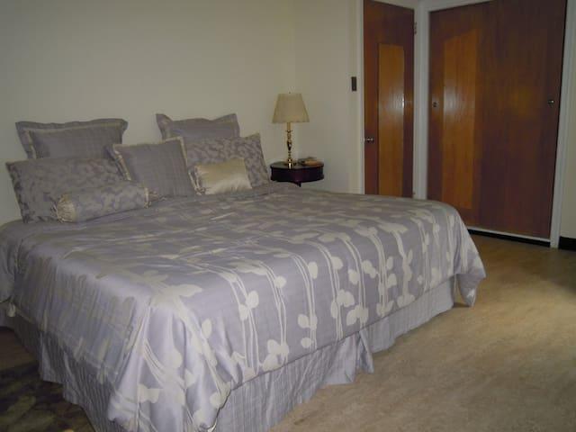 Garden view room in Elkins Park - Elkins Park - Huis