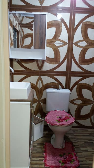 Banheiro privativo