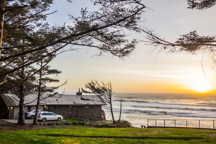 SB:OceanView!!Deck, Firepit, Beach Supplies,A+Wifi