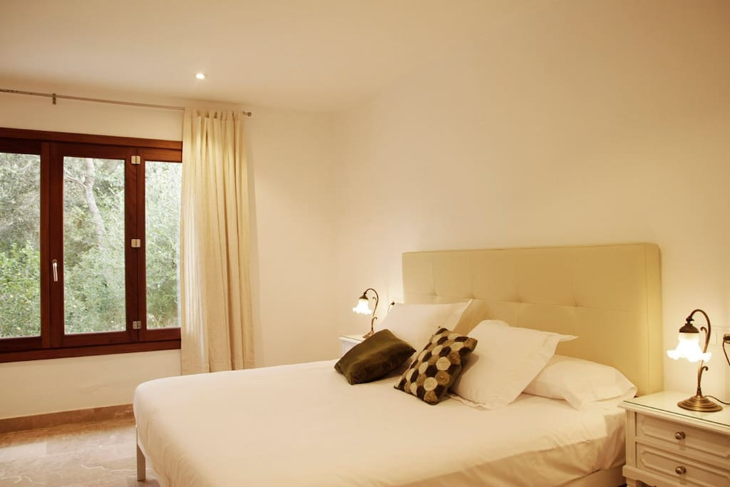 Modern and well illuminated bedrooms