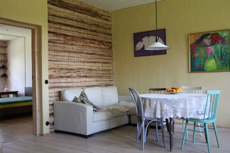 Spacious apartment with a garden - Viljandi
