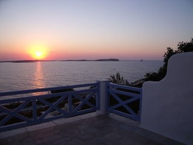 Sea view from every window villa in paros
