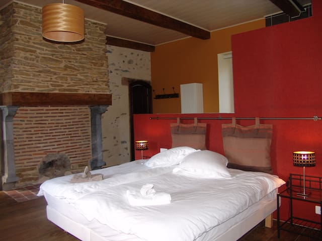 Le Buala, room Agor - Antist - Bed & Breakfast