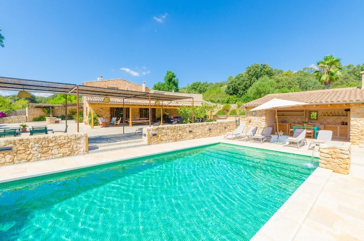 SA MATA GROSSA - Wonderful stone house with great BBQ area and private pool Free WiFi