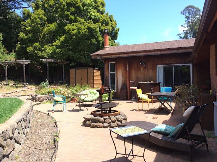 Beautiful Tiburon House with Garden