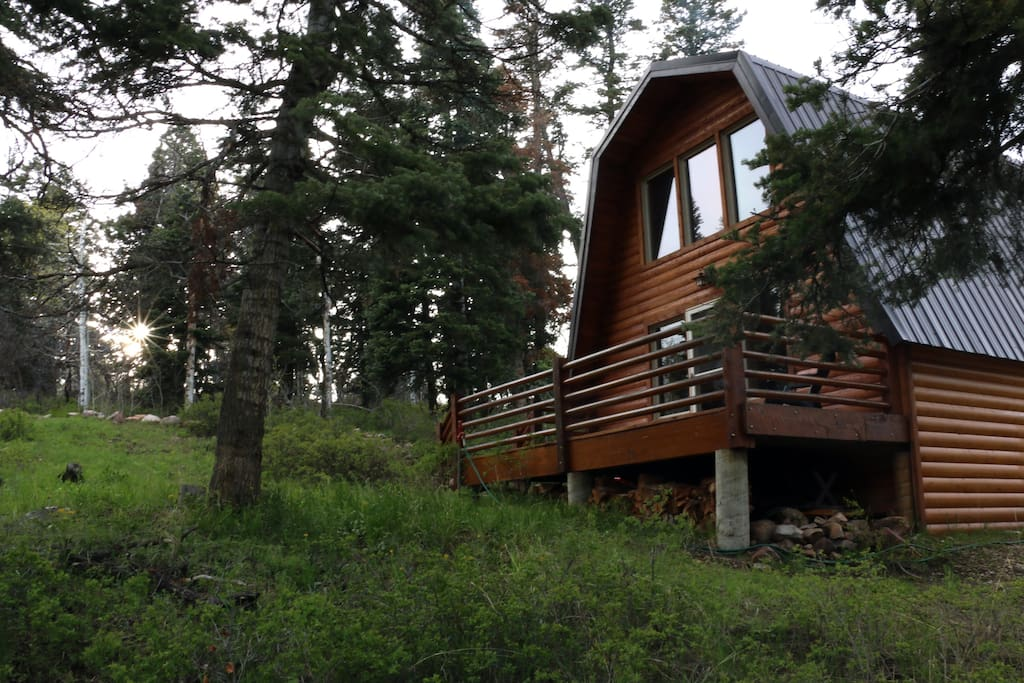 Cozy cabin park city wooded mtn cabins for rent in for Affitto cabina park city utah