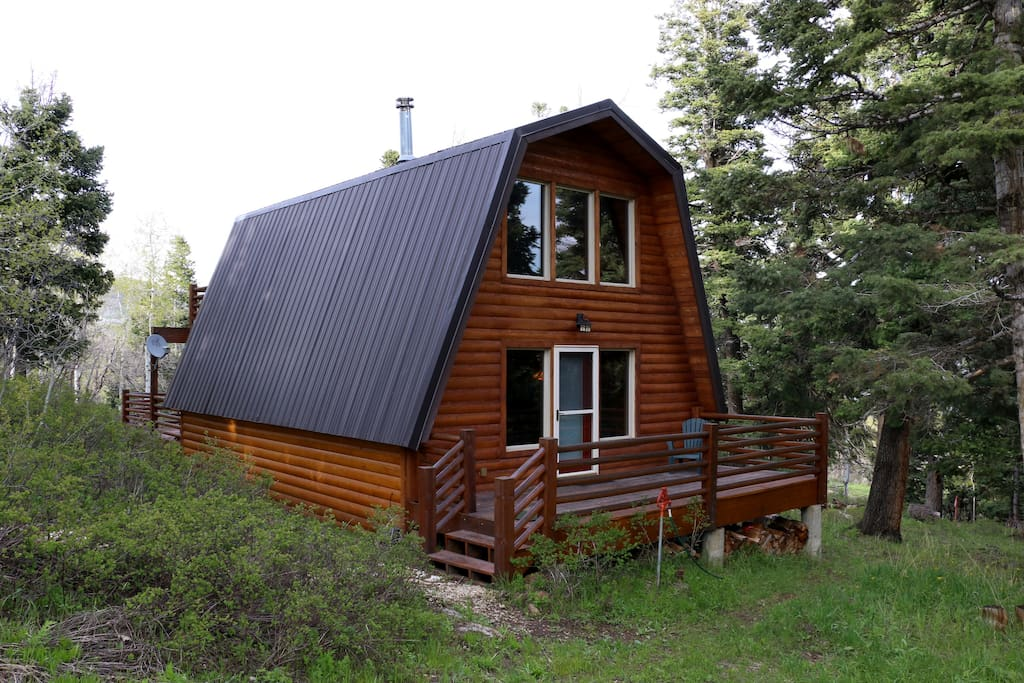 cozy cabin park city wooded mtn blockh tten zur miete