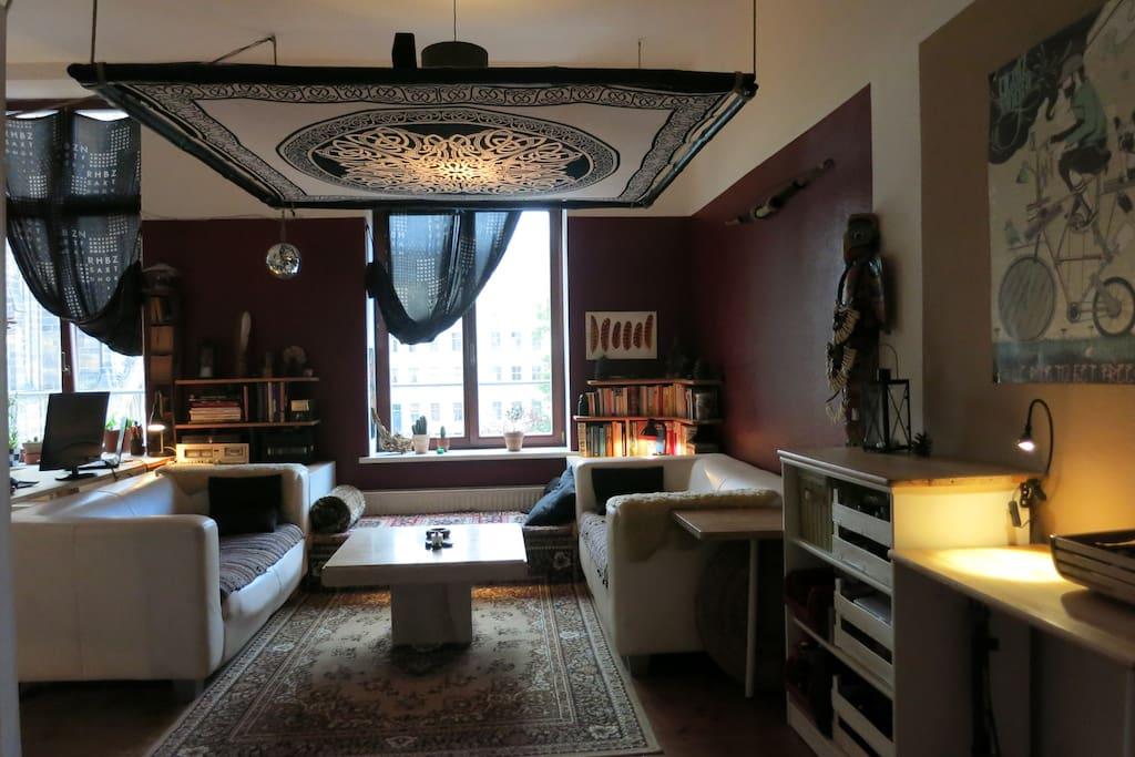 sehr gem tliche wohnung im zentrum wohnungen zur miete. Black Bedroom Furniture Sets. Home Design Ideas