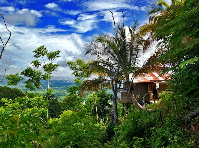 Little shanty, ENORMOUS view! - Añasco - Kabin
