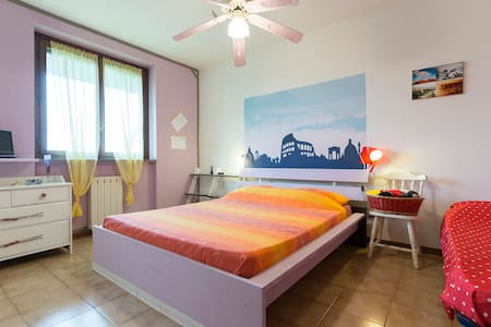 Triple room (1 single and 1 double  - ZIBIDO SAN GIACOMO - Casa