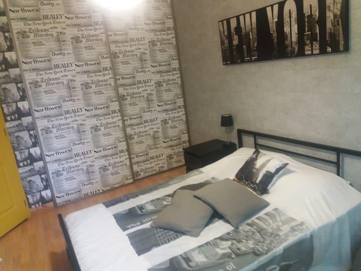 Chambre dans notre maison près aéroport Nantes