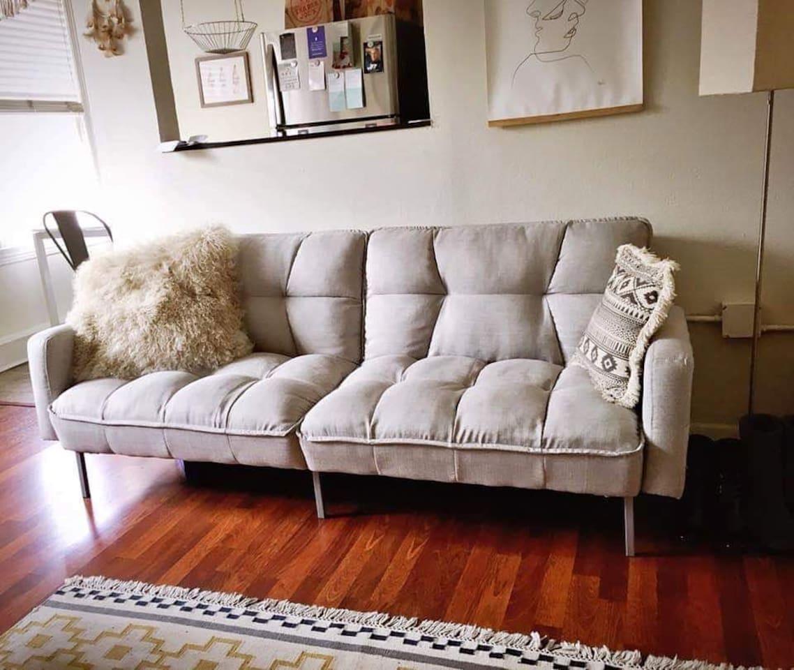 nice comfy sofa futon bed