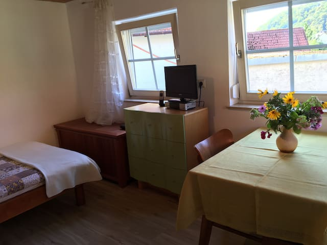 Kleine komplette Wohnung in Minihaeuschen