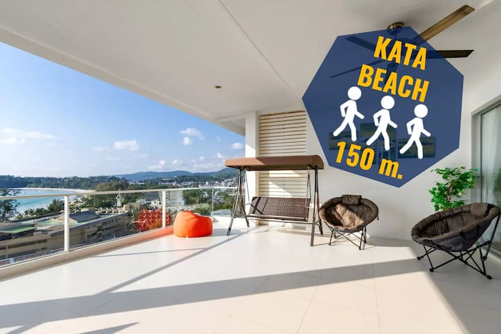 ✅3 bd ocean view luxury apartment near the beach