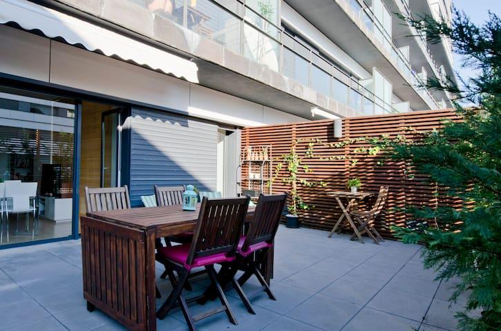 Amazing terrace, Parque das Nações - Lisboa - Apartment
