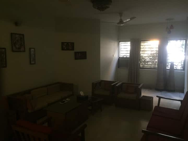 1 room w/ attached bath in Banani