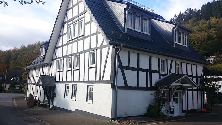 "FeWo ""Aale Huss"" altes Bauernhaus mit Charme - Netphen - Apto. en complejo residencial"