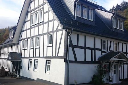 """FeWo """"Aale Huss"""" altes Bauernhaus mit Charme - Netphen - Kondominium"""