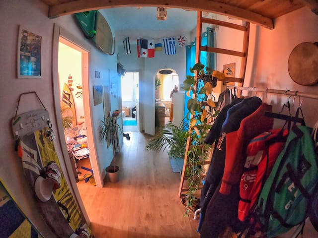 Surf attic in Rome