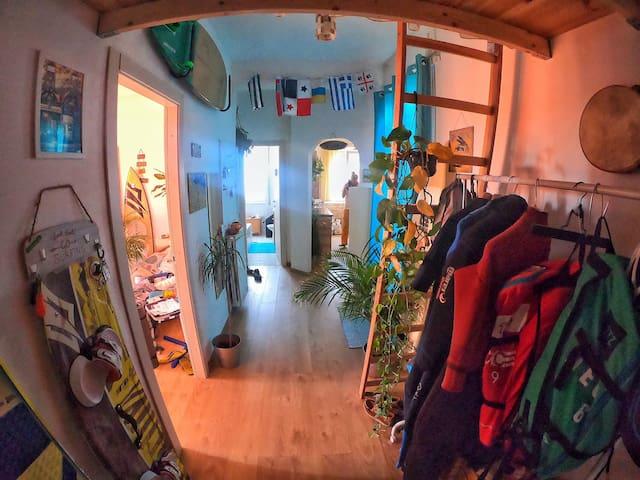 Surf attic in Rome
