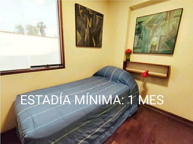 Habitación Privada y Segura (Chacarilla)
