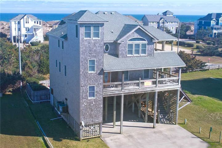 CONCH-ED OUT - Splendid Semi-Oceanfront Home w/ Solar Htd Pool, Hot Tub, Game Room & Wet Bar