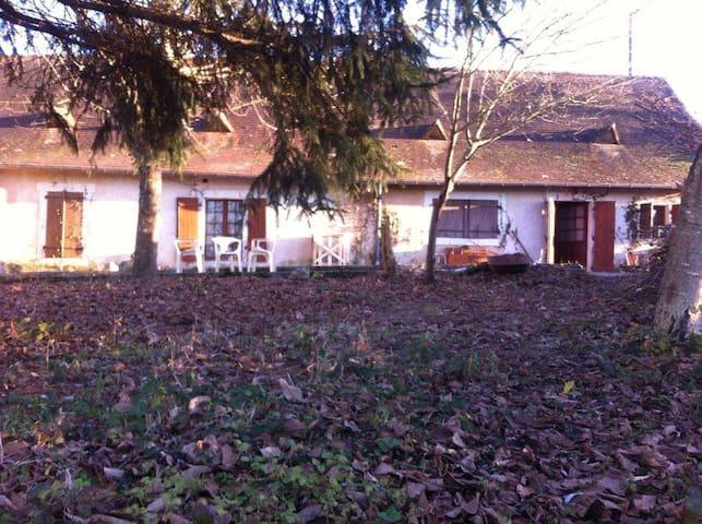 Chambre à louer chez artiste en pleine campagne - Blis-et-Born - Casa