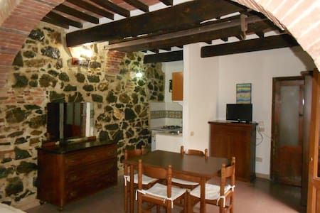 Characteristic studio apartment 20 min to the sea - Giuncarico