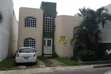 Casa para días festivos, a 3 cuadras de la playa - Heroica Veracruz
