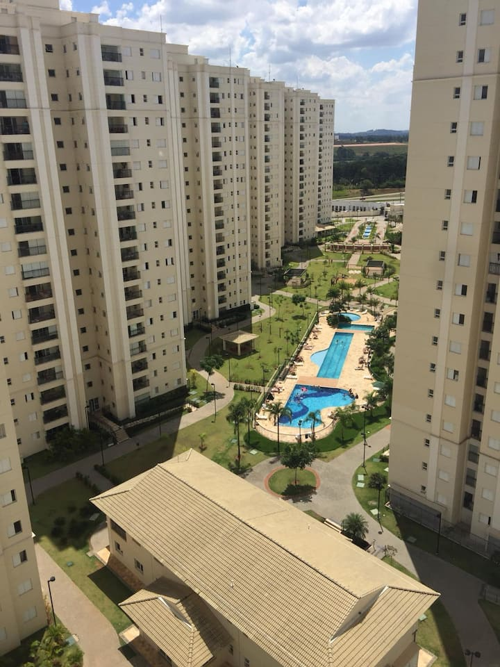 Quarto Individual - Condo Atmosphera - Eloy Chaves