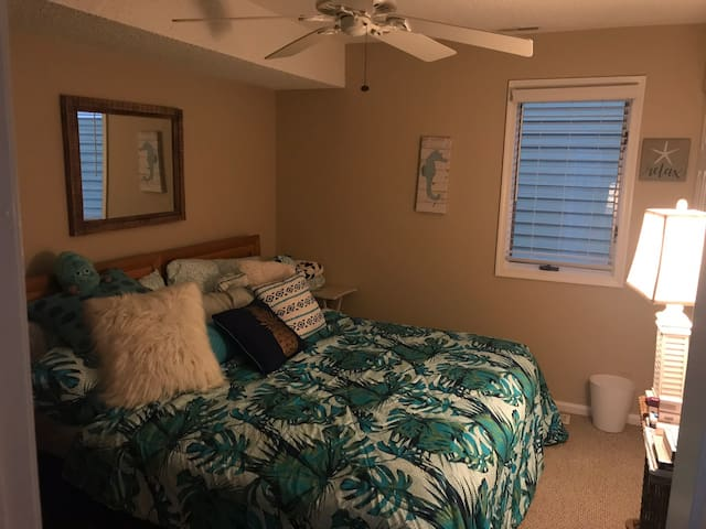 3rd bedroom (queen bed with closet and drawers)