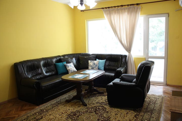 Very Central Apartment (High Speed WiFi & Parking)